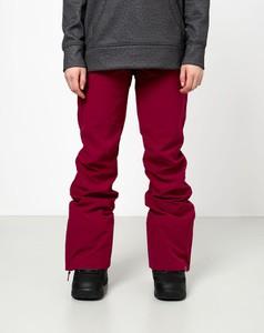 Czerwone spodnie sportowe Roxy z plaru