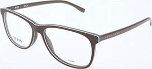 amazon.de BOSS Hugo męskie okulary Hugo pomarańczowe oprawki na okulary, szare, 55