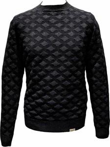 Czarny sweter Brooksfield