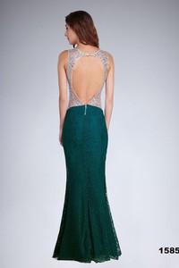 Zielona sukienka Soky&Soka bez rękawów