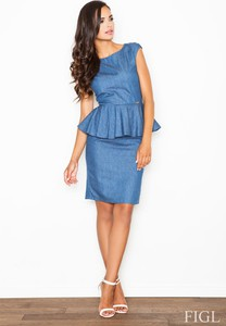 Sukienka Figl z bawełny mini
