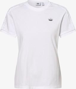 T-shirt Adidas Originals w sportowym stylu z okrągłym dekoltem