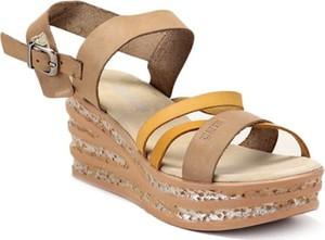 Brązowe sandały Big Star z klamrami
