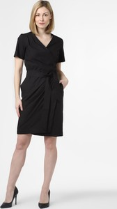 Czarna sukienka MaxMara z bawełny mini
