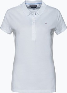 Tommy Hilfiger - Damska koszulka polo – New Chiara, biały