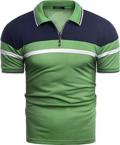 Zielony t-shirt Risardi