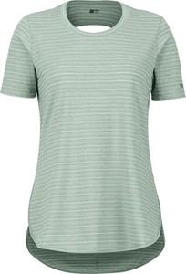 T-shirt Marmot z okrągłym dekoltem w stylu casual