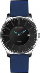 Niebieski zegarek męski chronos