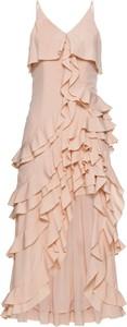 Bonprix bodyflirt boutique sukienka z falbanami