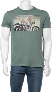 T-shirt Le temps des cerises z krótkim rękawem z bawełny w młodzieżowym stylu