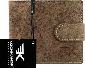 41d1be3ba29fc Portfel męski Kochmanski Studio Kreacji® w stylu casual ze skóry