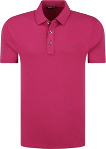 Różowa koszulka polo Michael Kors