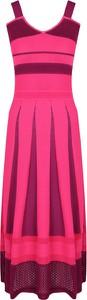 Różowa sukienka Pinko