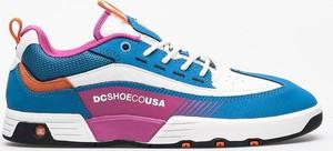 Buty sportowe DC Shoes z zamszu sznurowane