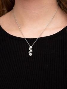 Lolita Orb Necklace Silver 3423