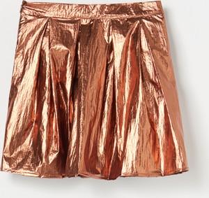 Złota spódniczka dziewczęca Reserved