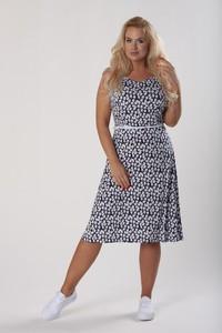 Sukienka Ptakmoda.com z odkrytymi ramionami bez rękawów