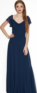 Niebieska sukienka 4myself z dekoltem w kształcie litery v