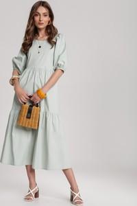 Sukienka Renee z długim rękawem w stylu casual midi