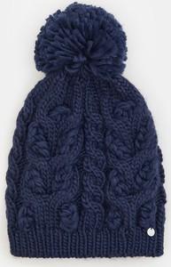 Granatowa czapka Mohito