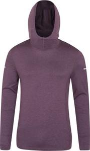 Fioletowa bluza Mountain Warehouse z tkaniny