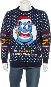 Niebieski sweter Disney w młodzieżowym stylu