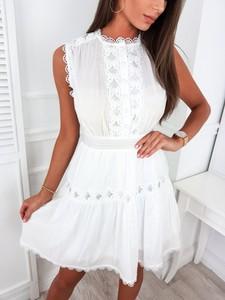 Sukienka Infinityfashion.pl mini z okrągłym dekoltem