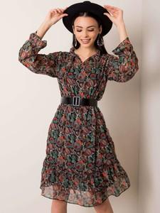 Sukienka Sheandher.pl z długim rękawem