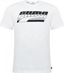 T-shirt Puma z krótkim rękawem w sportowym stylu z bawełny