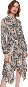 Sukienka Top Secret z długim rękawem koszulowa