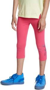 Różowe legginsy dziecięce Desigual