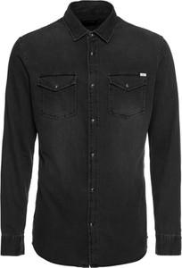 Koszula Jack & Jones z klasycznym kołnierzykiem z długim rękawem z jeansu