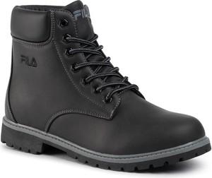 Buty zimowe Fila sznurowane