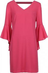 Sukienka VISSAVI z długim rękawem w stylu casual midi