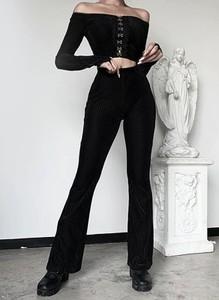 Czarne spodnie Arilook