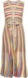 Sukienka Marella bez rękawów z dekoltem w kształcie litery v w stylu casual