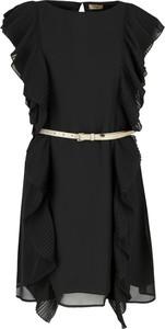 Sukienka Liu-Jo mini z okrągłym dekoltem