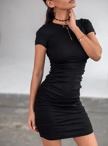 Sukienka SELFIEROOM mini z bawełny z krótkim rękawem
