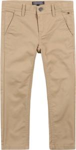 Spodnie dziecięce Tommy Hilfiger z tkaniny