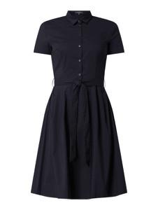 Sukienka Montego rozkloszowana z krótkim rękawem