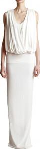 Sukienka Yuliya Babich bez rękawów z dekoltem w kształcie litery v maxi