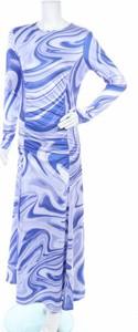 Niebieska sukienka Hosbjerg