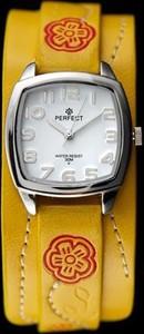 ZEGAREK DAMSKI PERFECT E893 - TAOTAO (zp512g) - Żółty    Srebrny
