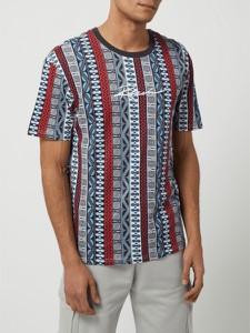 T-shirt Review w młodzieżowym stylu z bawełny z nadrukiem