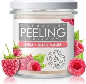 e-FIORE Peeling Cukrowy Malina 300g