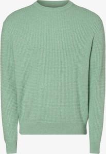 Zielony sweter Andrew James z bawełny