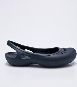 Granatowe baleriny Crocs