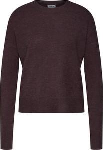 Fioletowy sweter Noisy May z dzianiny w stylu casual