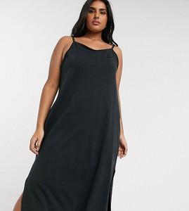 Sukienka Nike na ramiączkach maxi z dżerseju