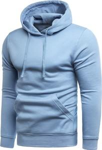Niebieska bluza Risardi w młodzieżowym stylu